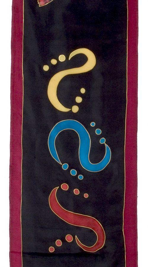 foulard-Mariposa_Negra